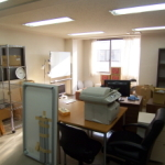 事務所の移転作業中です。