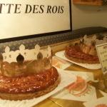 ガレット・デ・ロワを食べました