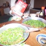 広島お好み焼きを食べに行きました。