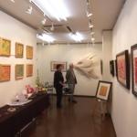 村上慶子氏の個展に行きました。
