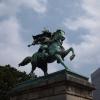 皇居外苑の楠正成公像