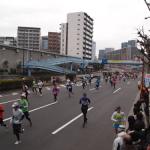 東京マラソンを見に行ってみた