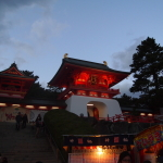 赤間神宮に行ってきた。