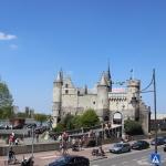 [ベルギー篇] アントワープのステーン城に行ってきた。