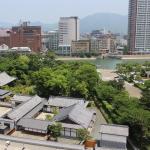 小倉城庭園にも行ってきた。