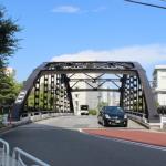 アーチ鉄橋の魅力、江東区の白妙橋