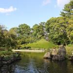 [静岡篇] 駿府城の紅葉山庭園に行ってきた。