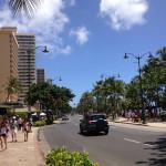 [ハワイ篇] ワイキキ地区を歩いてみた。