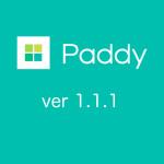 Paddyの最新バージョン「ver 1.1.1」リリース