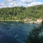 [スイス篇] ライン滝(1)Rheinfall