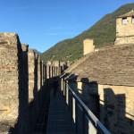 [スイス篇] ベリンツォーナ(7)モンテベッロ城