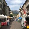 [スイス篇] シオン(1)市街地からシャトー通り