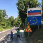 [中欧篇] トラコシチャンから国境へ /クロアチア→スロベニア
