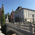 [中欧篇] リュブリャナ(1)プレシェーレン広場と三本橋/スロベニア