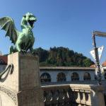 [中欧篇] リュブリャナ(2)竜の橋 /スロベニア